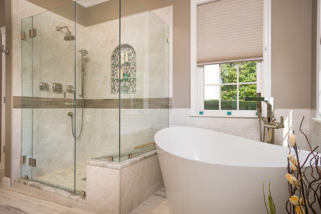 Calming Portsmouth Master Bath Rhode Kitchen Amp Bath