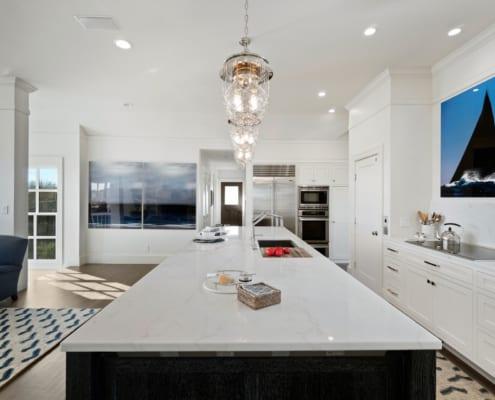 Newport-Kitchen-Remodel-Custom-Shaker-Cabinets-Marble