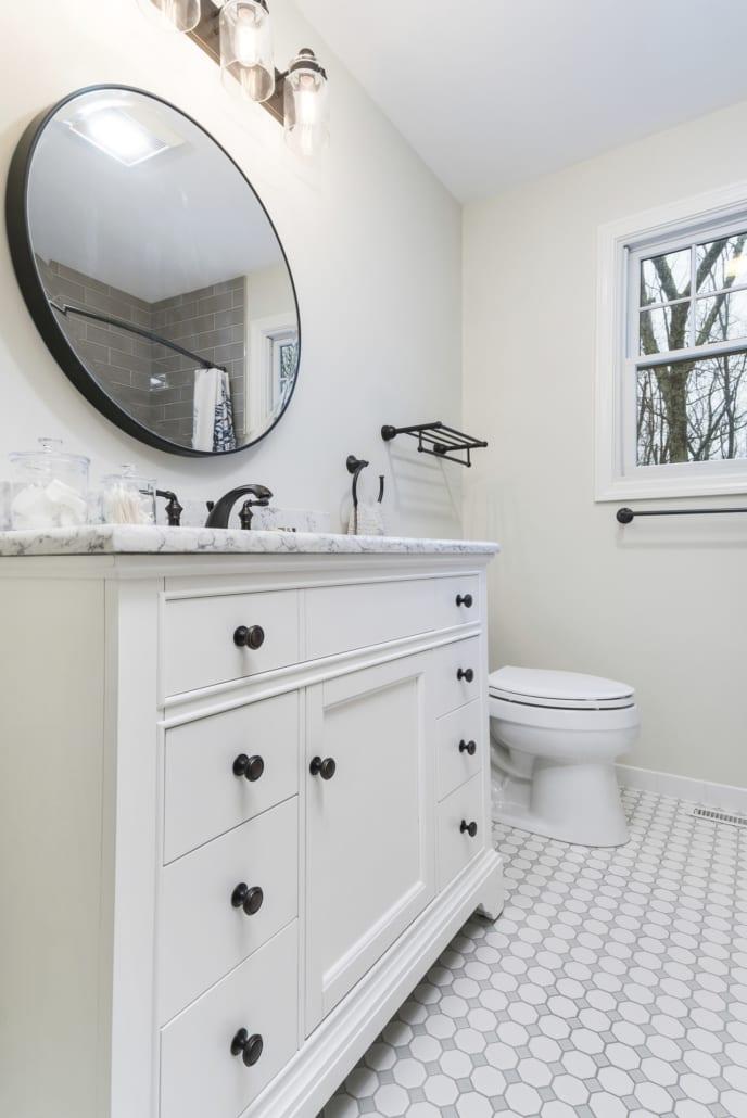 Small Bathroom Storage Vanity
