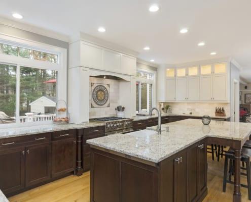 Traditional-Gourmet-Kitchen-Granite-Kohler