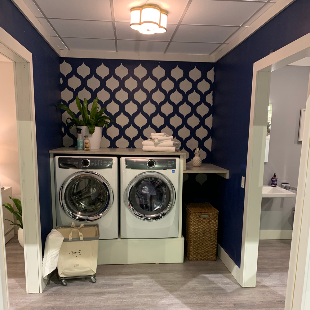 Hartland Kitchen And Laundry Room Remodel: This Is Not Your Mom's Laundry Room