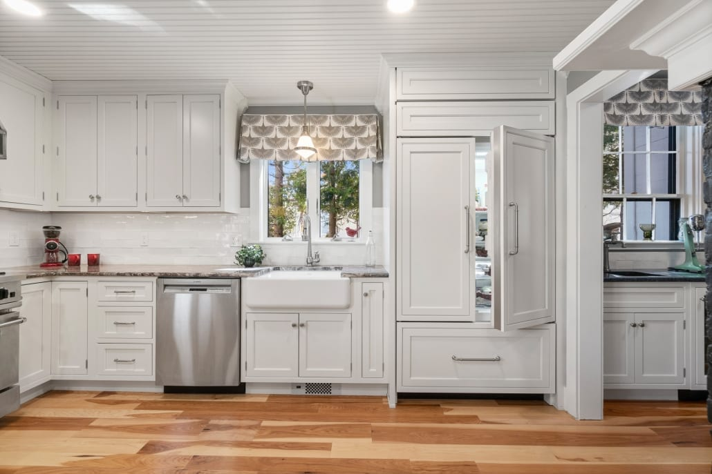 Newport White Kitchen Remodel