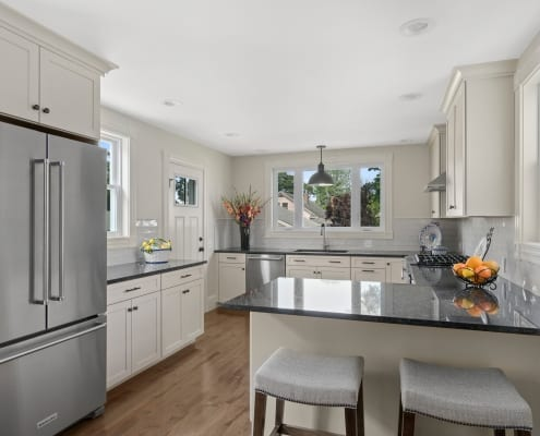 Spacious Open Cranston Kitchen
