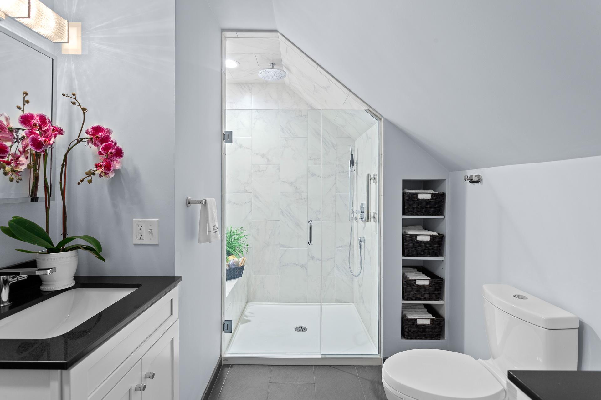 Elegant Bathroom Rhode Kitchen Bath Design Build