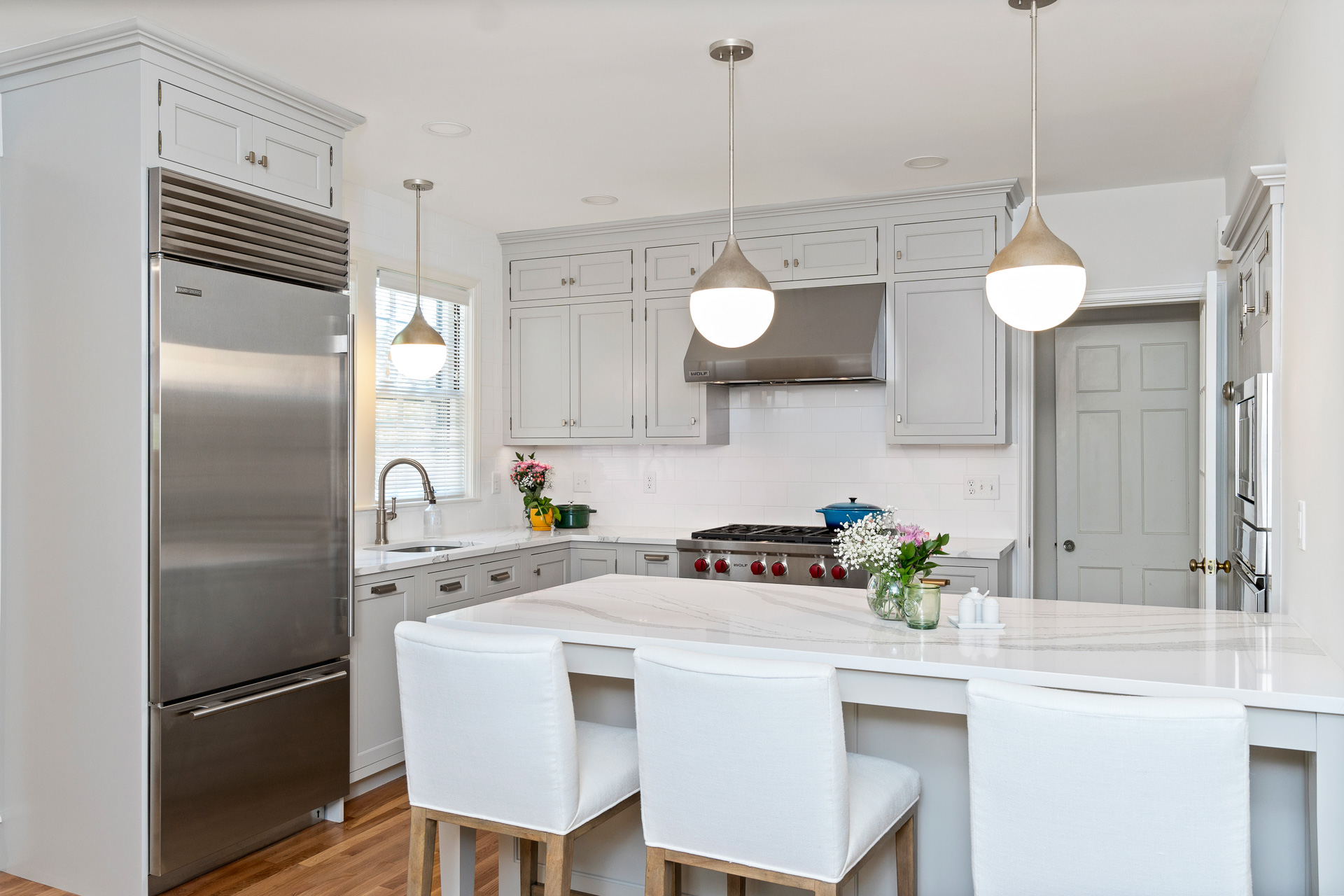 Providence Traditional White Kitchen - Rhode Kitchen & Bath ...