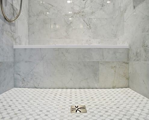 Dotty-Polished-Tile-Shower-Floor