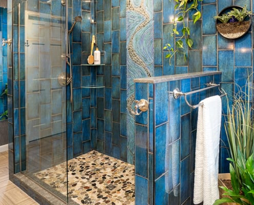 Pebble-Tile-Shower