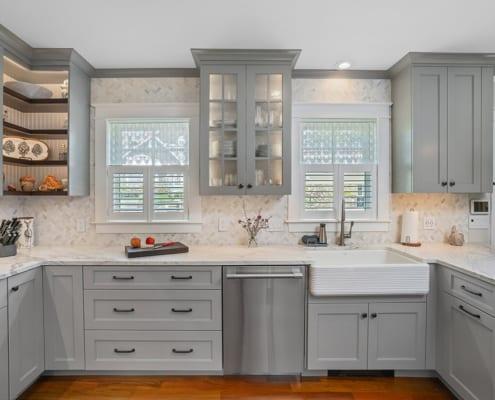 apron-front-sink-gray-kitchen