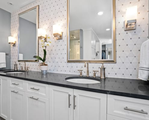 transitional-double-vanity