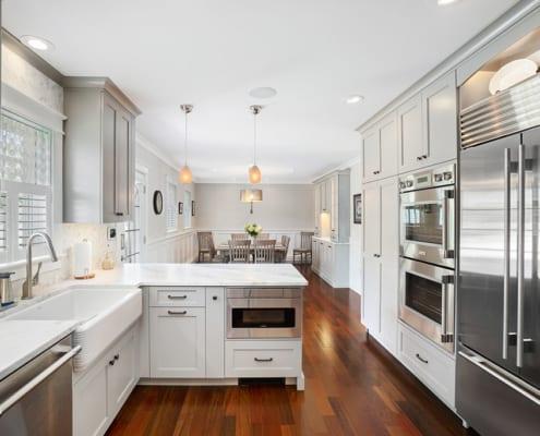farmhouse-sink-gray-kitchen