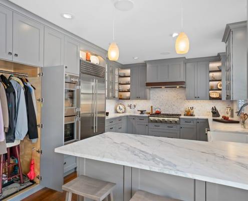 gray-kitchen-cabinet-storage
